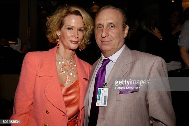 Catherine de Castelbajac and Ron Silver attend American Institute for Stuttering Gala Luncheon at Queen Mary 2 Red Hook on June 10, 2007 in Brooklyn,...