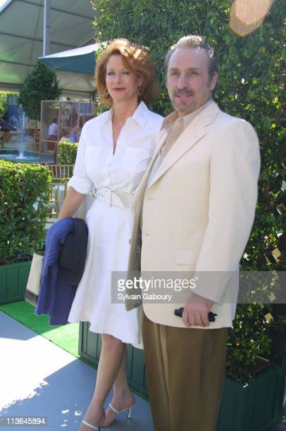 Catherine De Castelbajac, Ron Silver during USTA's Pre-Party for the US Open's Men's Finals at USTA Tennis Center in Flushing Meadows, New York,...