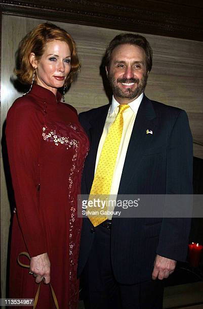 """Catherine de Castelbajac, Ron Sliver during Dinner & Screening of Columbia Pictures' """"ALI"""" at Le Cirque & SONY Screening Room in New York, New York,..."""