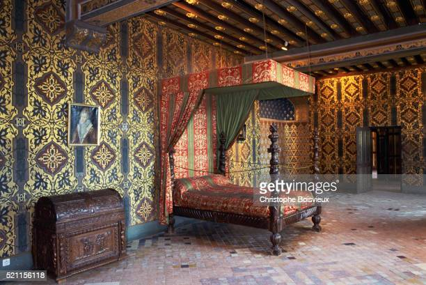 Catherine de Medici's Bedroom in Chateau de Blois