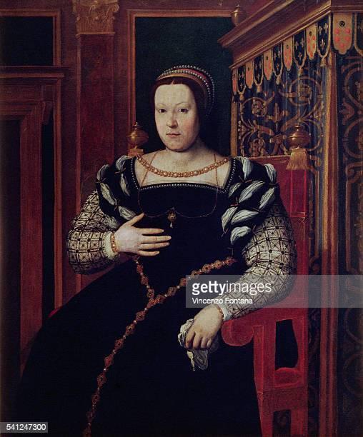 Catherine de Medicis by Santi di Tito