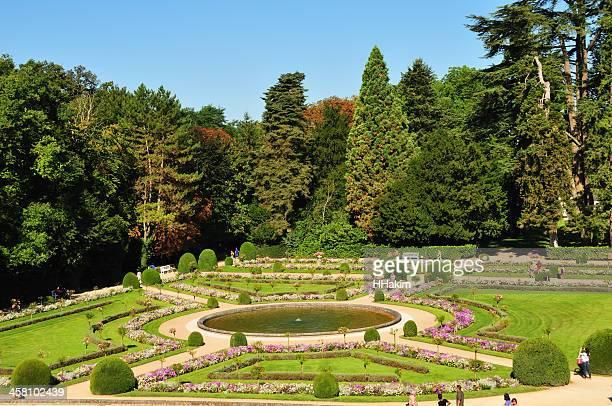 Catherine De' Medici's garden at Château de Chenonceau