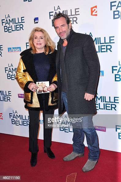 Fotos und bilder von 39 la famille belier 39 paris premiere for Jean dujardin famille