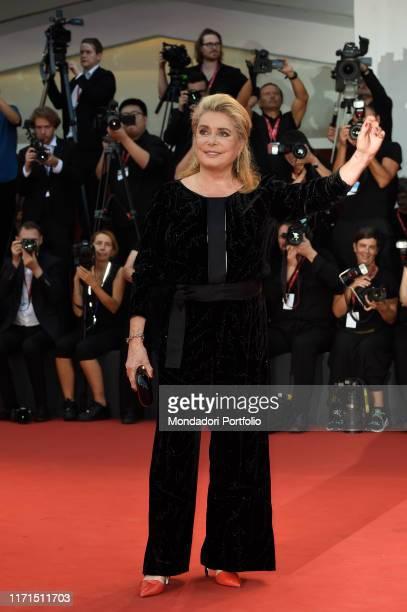 Catherine Deneuve at the 76 Venice International Film Festival 2019 Joker red carpet Venice August 31th 2019