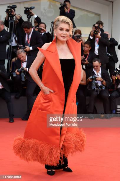 Catherine Deneuve at the 76th Venice International Film Festival 2019. Opening ceremony and premiere of the film La Veritè. Venice , August 28th, 2019