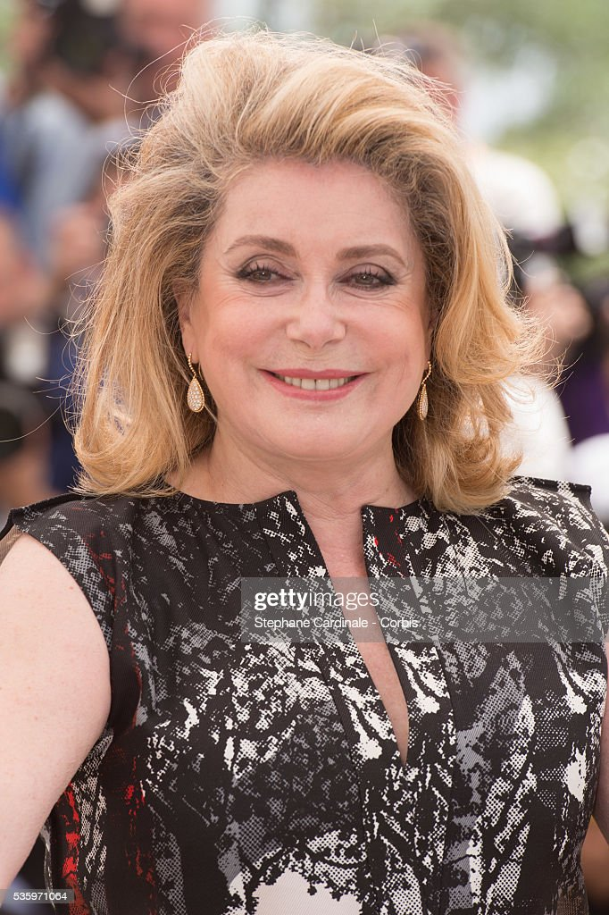 Catherine Deneuve at the 'L'Homme Qu'On Aimait Trop' photocall during the 67th Cannes Film Festival