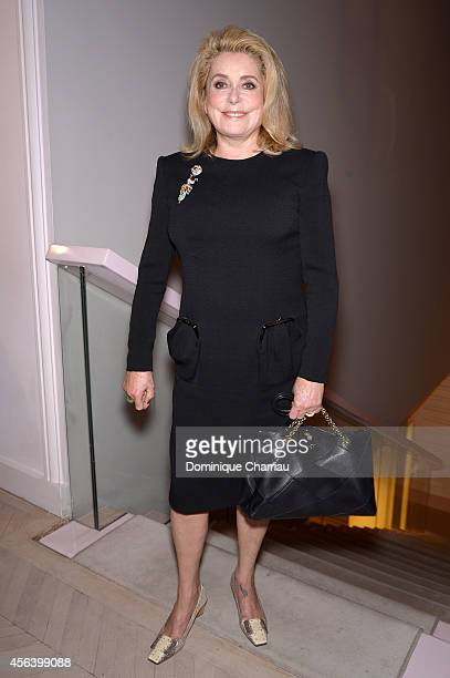 Catherine Deneuve attends Roger Vivier Cocktail Event Honouring Ambra Medda as part of Paris Fashion Week Womenswear Spring/Summer 2015 in the Rue...