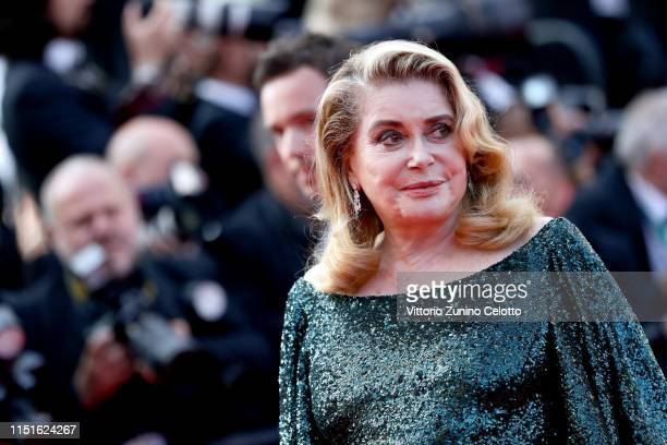 """Catherine Deneuve attends the closing ceremony screening of """"The Specials"""" during the 72nd annual Cannes Film Festival on May 25, 2019 in Cannes,..."""