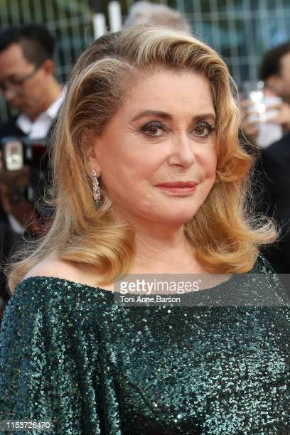 Catherine Deneuve attends the closing ceremony screening of The Specials during the 72nd annual Cannes Film Festival on May 25 2019 in Cannes France
