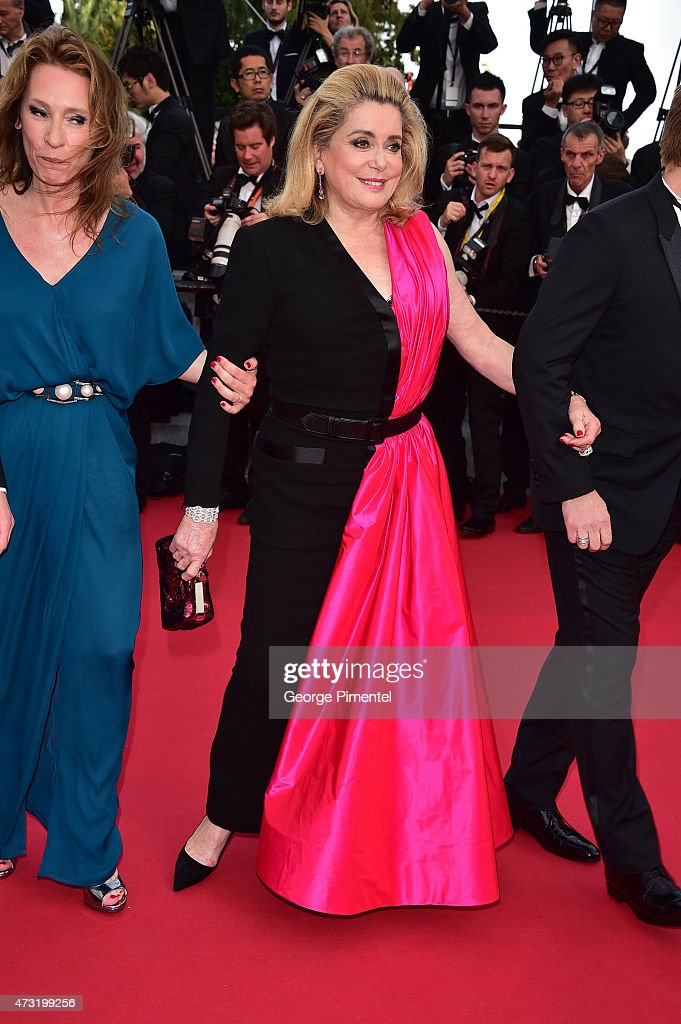 Catherine Deneuve attends the opening ceremony and premiere of 'La Tete Haute ('Standing Tall') during the 68th annual Cannes Film Festival on May 13, 2015 in Cannes, France.