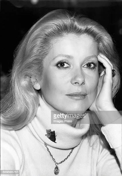 Catherine Deneuve circa 1979 in New York City.