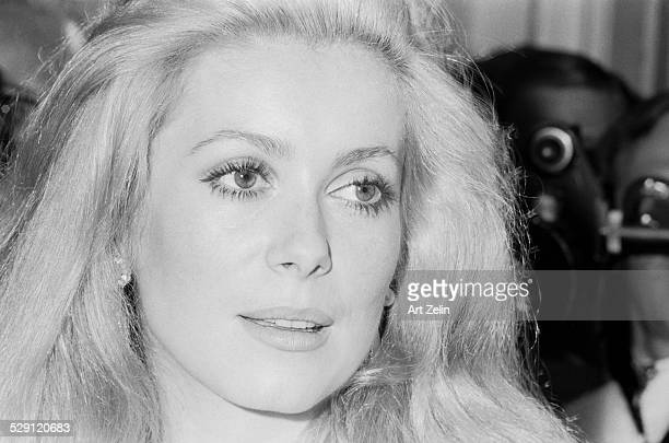 Catherine Deneuve closeup circa 1970 New York