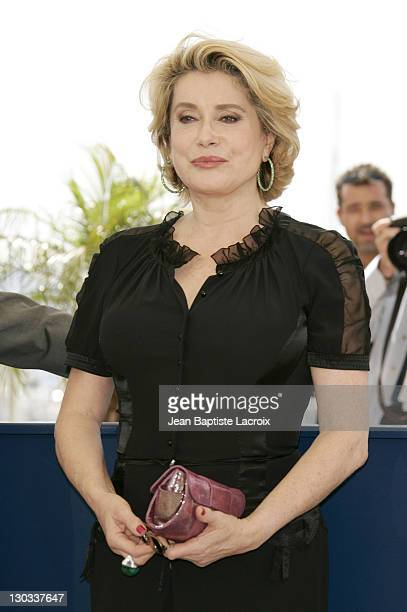9451b812037 Catherine Deneuve during 2005 Cannes Film Festival Catherine Deneuve  Photocall at Palais Du Festival in Cannes