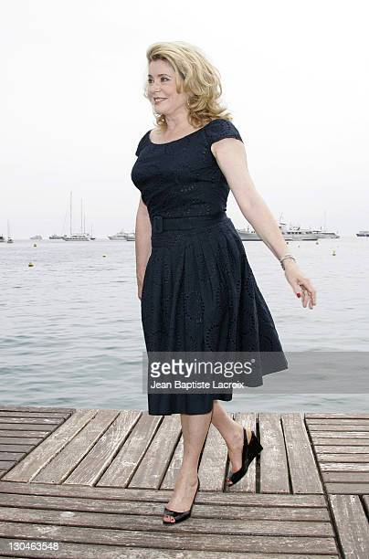 bab6c22bea1 Catherine Deneuve during 2007 Cannes Film Festival  After Him  Photocall at  Palais des Festival
