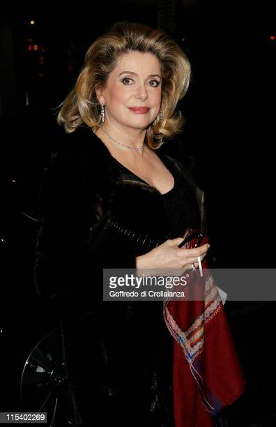 Catherine Deneuve during Grand Classics 'Place Vendome' Private VIP Screening at The Electric Cinema in London Great Britain