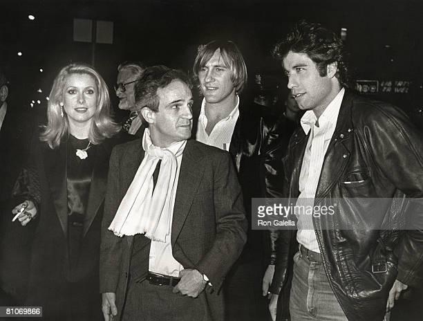 Catherine Deneuve Francois Truffaut Gerard DePardieu and John Travolta