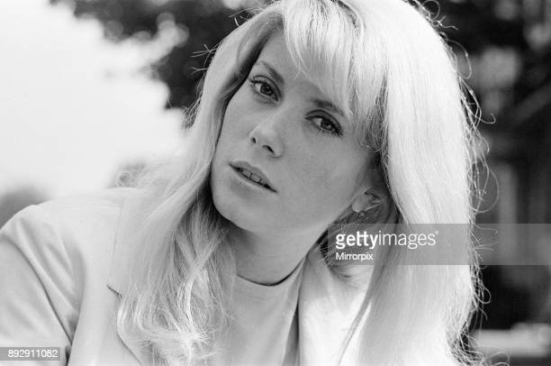 Catherine Deneuve french actress in UK filming 1965 British psychological horror Repulsion pictured in London Friday 2nd October 1964
