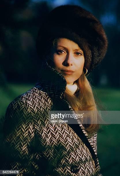 Catherine Deneuve in Paris