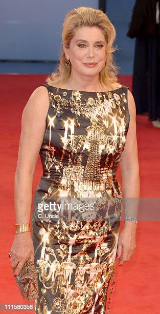 "Catherine Deneuve, Jury President during The 63rd International Venice Film Festival - ""The Black Dahlia"" Premiere - Arrivals at Palazzo Del Cinema..."