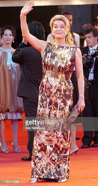 "Catherine Deneuve, Jury President during The 63rd International Venice Film Festival - ""The Black Dahlia"" Premiere - Arrivals at Palazzo Del Cinema..."