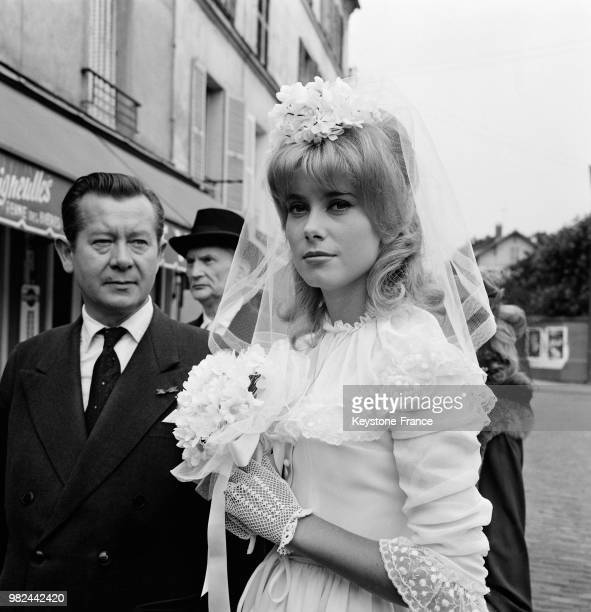 Catherine Deneuve On Set Of Movie Le Vice Et La Vertu Vice And Virtue Directed By Roger Vadim July 30 1962
