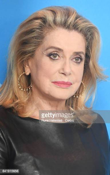 Catherine Deneuve the 'The Midwife' photo call during the 67th Berlinale International Film Festival Berlin at Grand Hyatt Hotel on February 14 2017...
