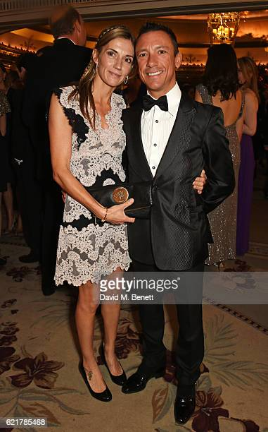 Catherine Dettori and Frankie Dettori attend The Cartier Racing Awards 2016 at The Dorchester on November 8 2016 in London England