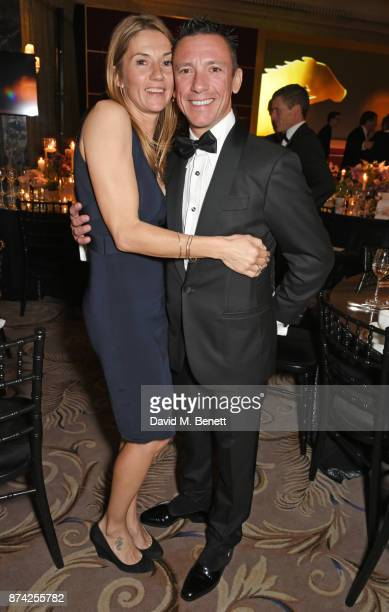 Catherine Dettori and Frankie Dettori attend The Cartier Racing Awards 2017 at The Dorchester on November 14 2017 in London England
