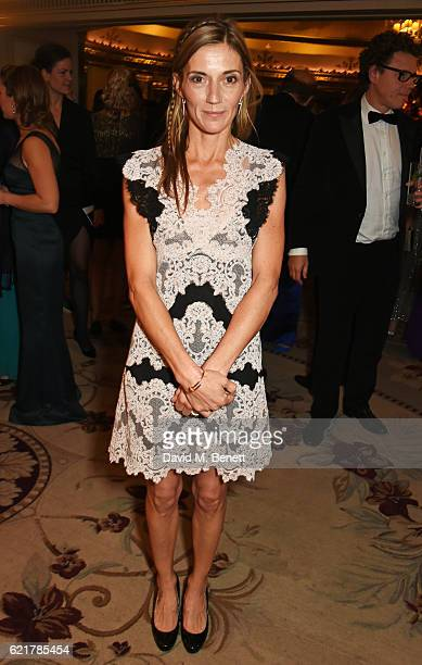 Catherine Dettori attends The Cartier Racing Awards 2016 at The Dorchester on November 8 2016 in London England