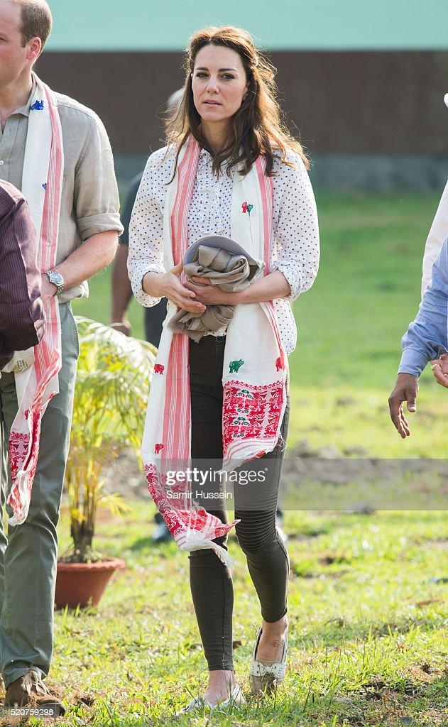 The Duke & Duchess Of Cambridge Visit India & Bhutan - Day 4 : News Photo