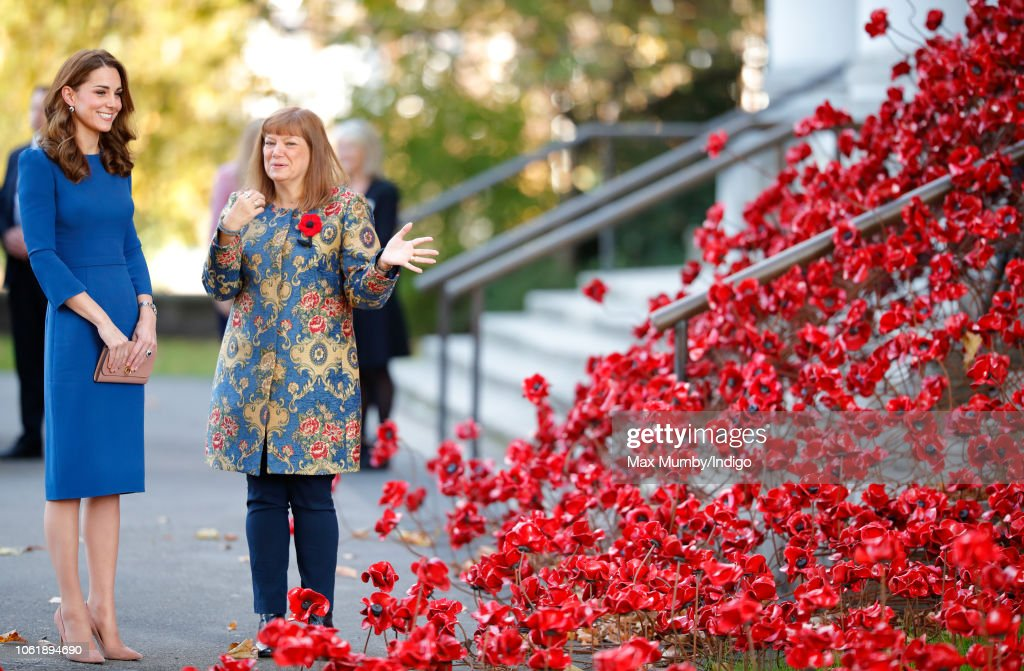 The Duchess Of Cambridge Visits The Imperial War Museum : News Photo
