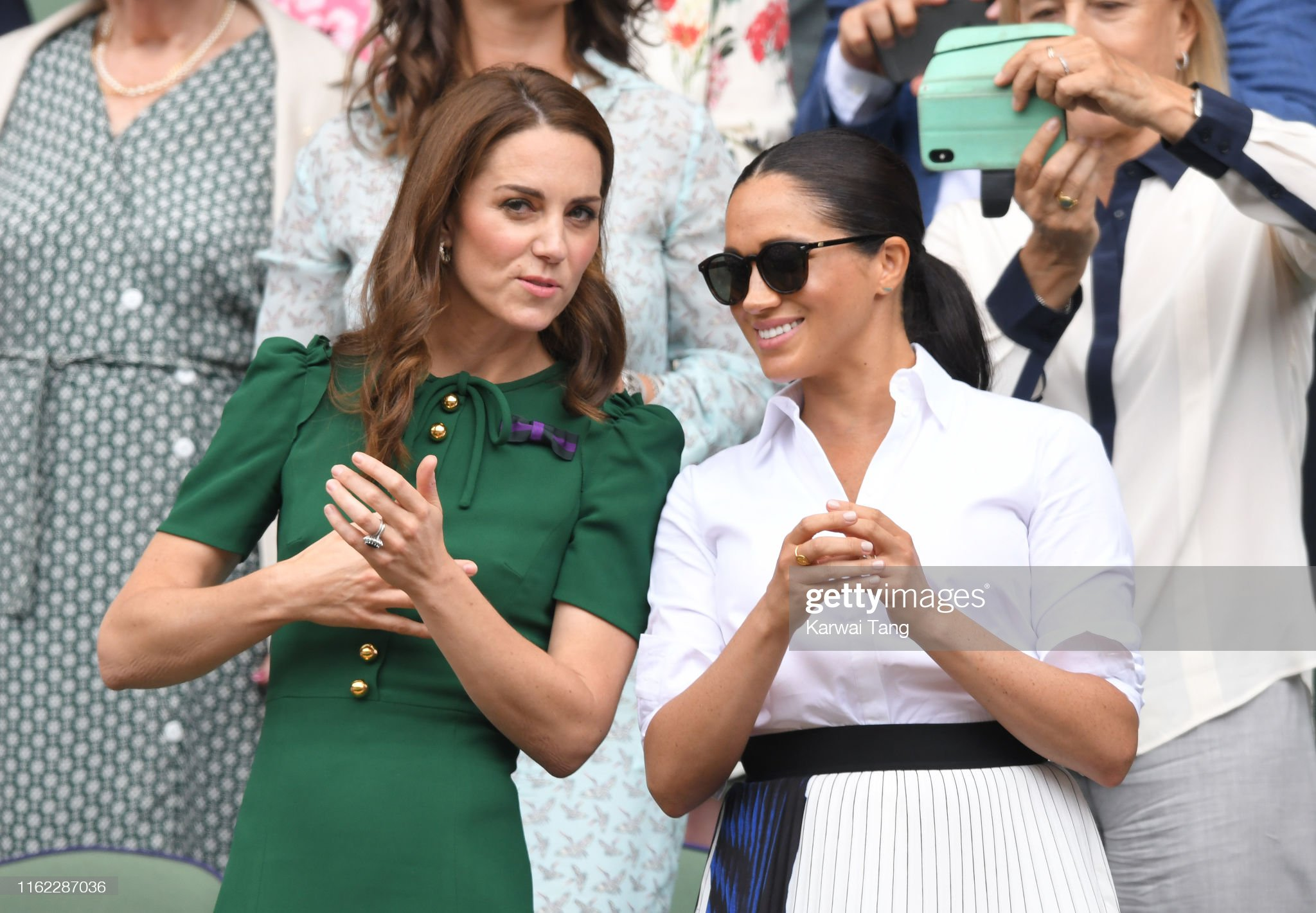 Celebrities Attend Wimbledon 2019 : News Photo