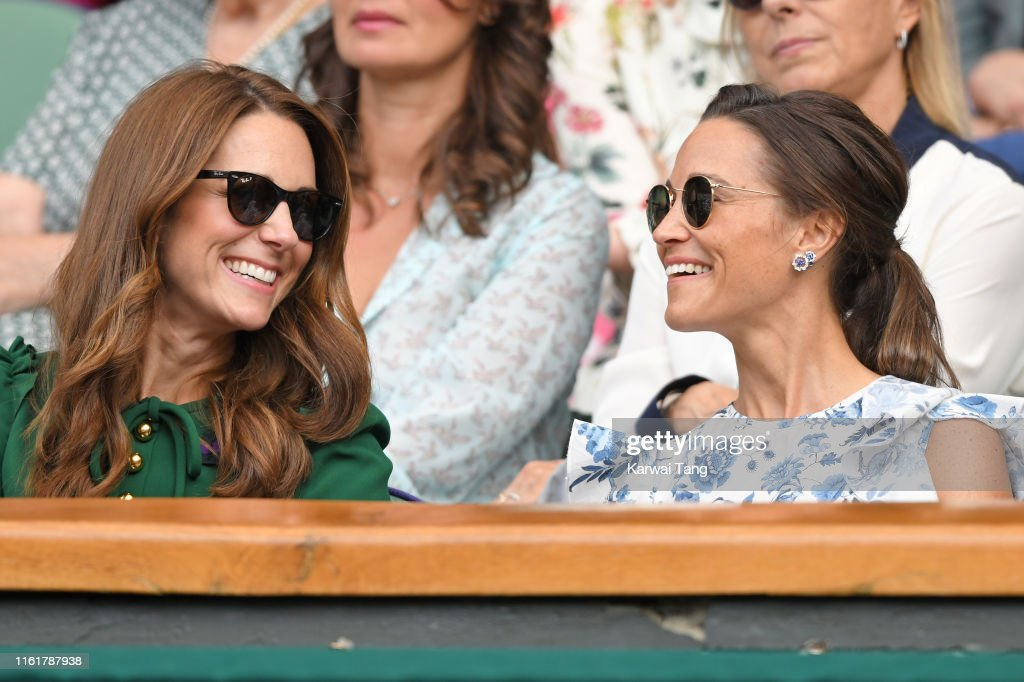 Celebrities Attend Wimbledon 2019 : Photo d'actualité