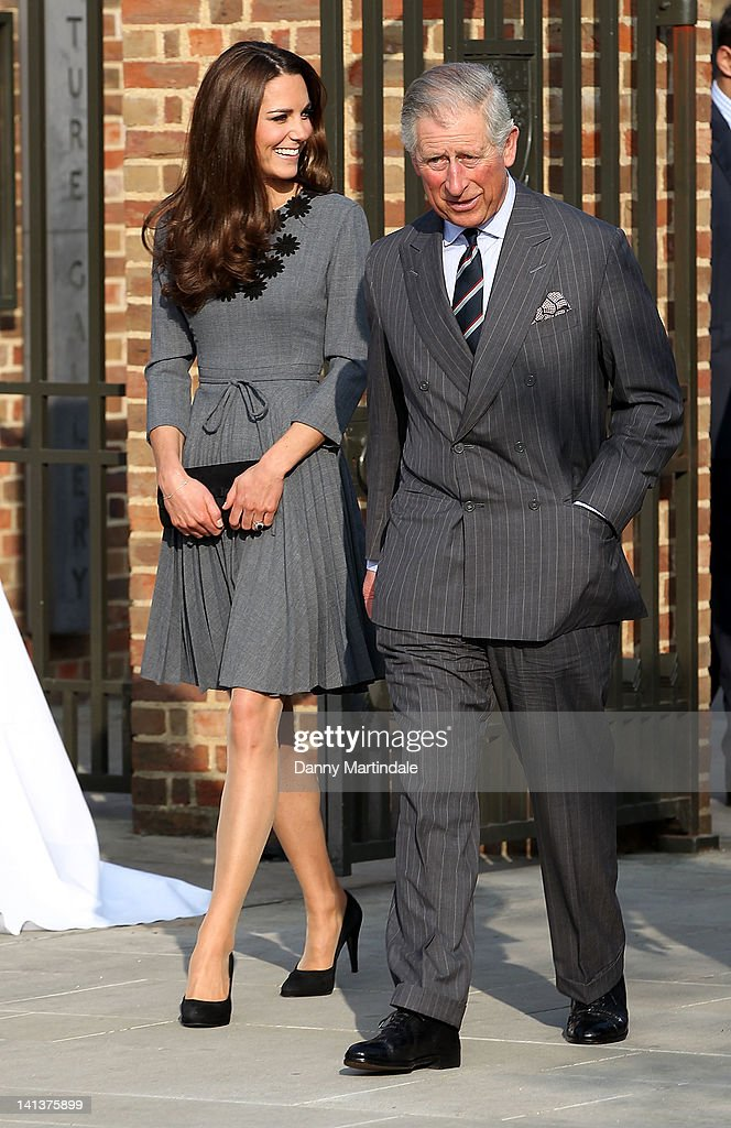 Catherine, Duchess of Cambridge and Prince Charles, Prince of Wales visit The Prince's Foundation for Children and The Arts at Dulwich Picture Gallery on March 15, 2012 in London, England.