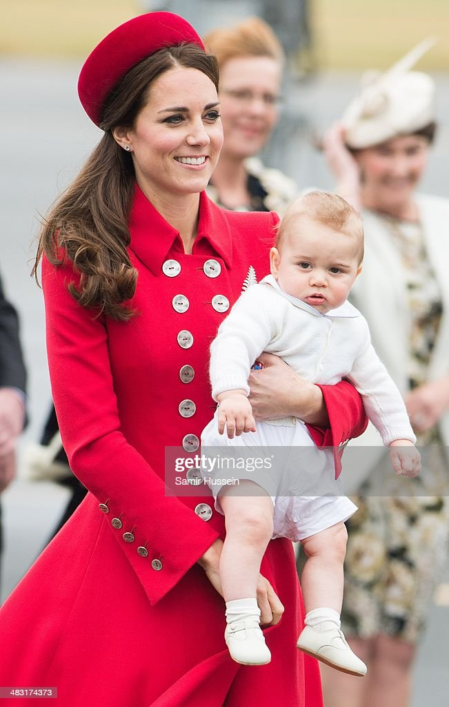 The Duke And Duchess Of Cambridge Tour Australia And New Zealand - Day 1 : News Photo