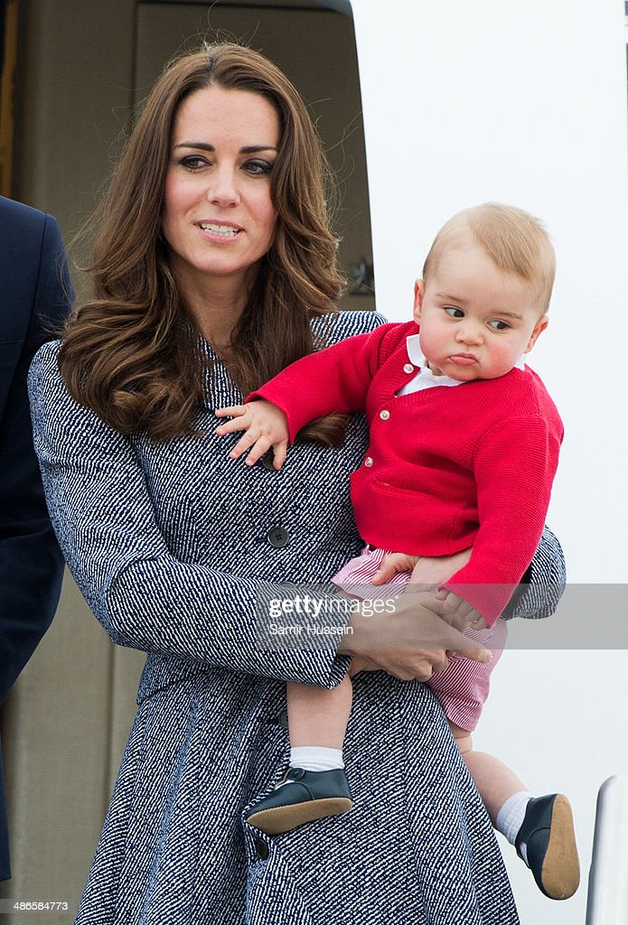 The Duke And Duchess Of Cambridge Tour Australia And New Zealand - Day 19 : News Photo