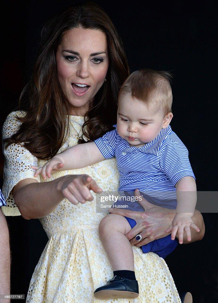 The Duke And Duchess Of Cambridge Tour Australia And New Zealand - Day 14 : News Photo