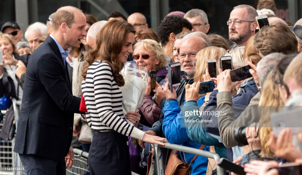The Duke And Duchess Of Cambridge Launch King's Cup Regatta : News Photo