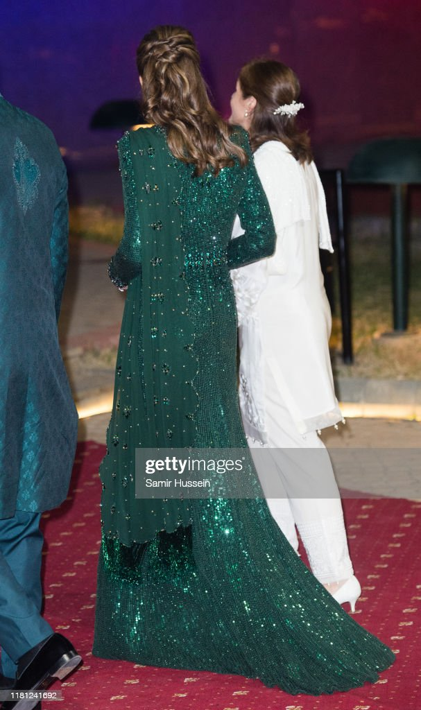 The Duke And Duchess Of Cambridge Visit Islamabad - Day Two : News Photo
