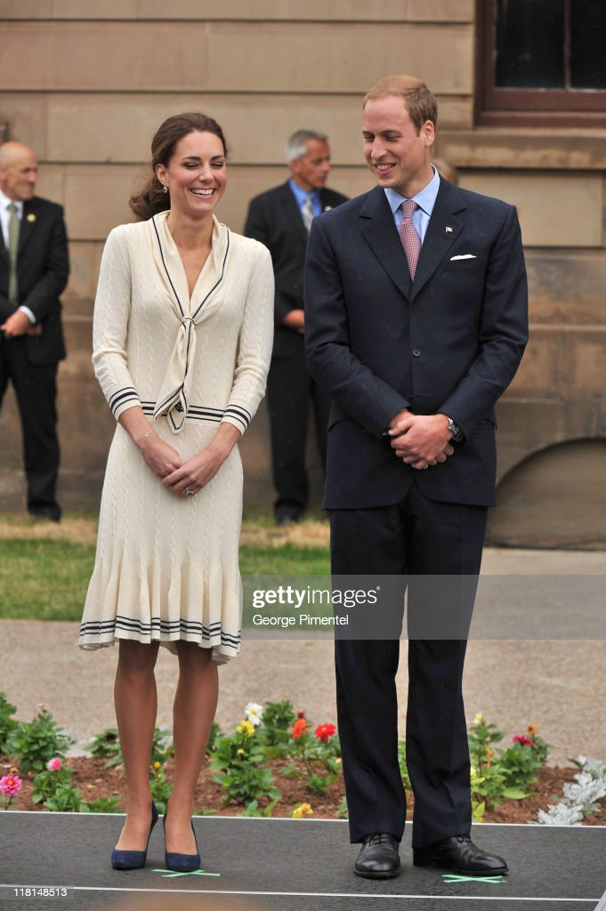Catherine, Duchess of Cambridge and Prince William, Duke of Cambridge visit the Province House on July 5, 2011 in Charlottetown, Canada.