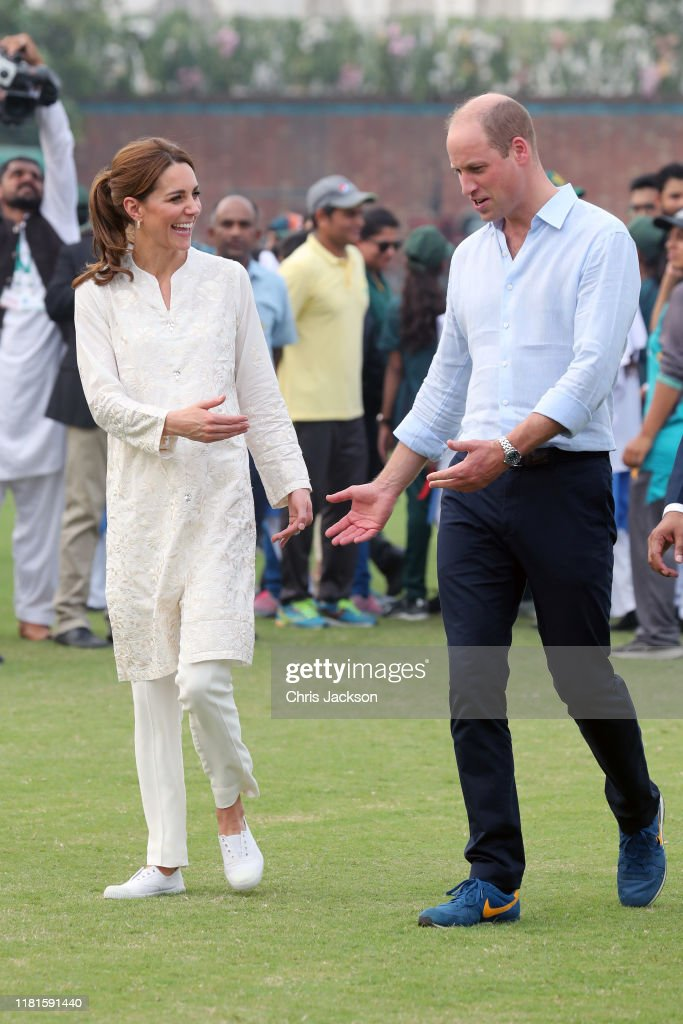 The Duke And Duchess Of Cambridge Visit The North Of Pakistan : Foto jornalística