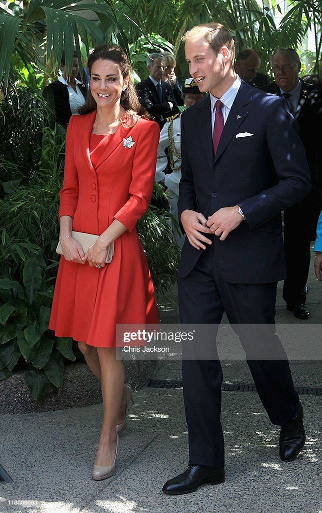 The Duke And Duchess Of Cambridge Canadian Tour - Day 9 : ニュース写真