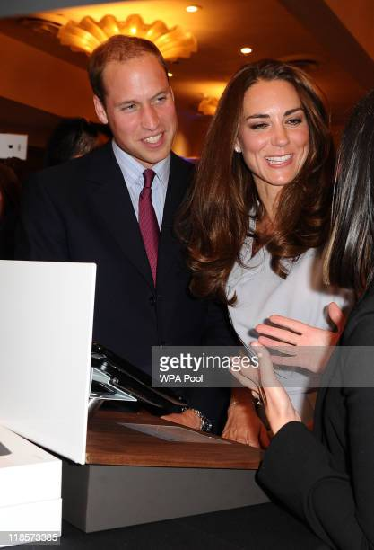 Catherine, Duchess of Cambridge and Prince William, Duke of Cambridge attend the UK Trade & Investment and Variety's Venture Capital and New Media...