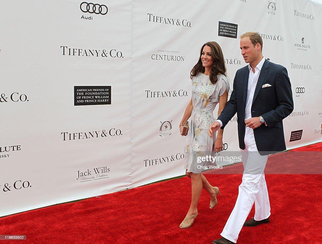 Tiffany & Co. sponsors The Foundation Polo Challenge at the Santa Barbara Polo & Racquet Club : News Photo