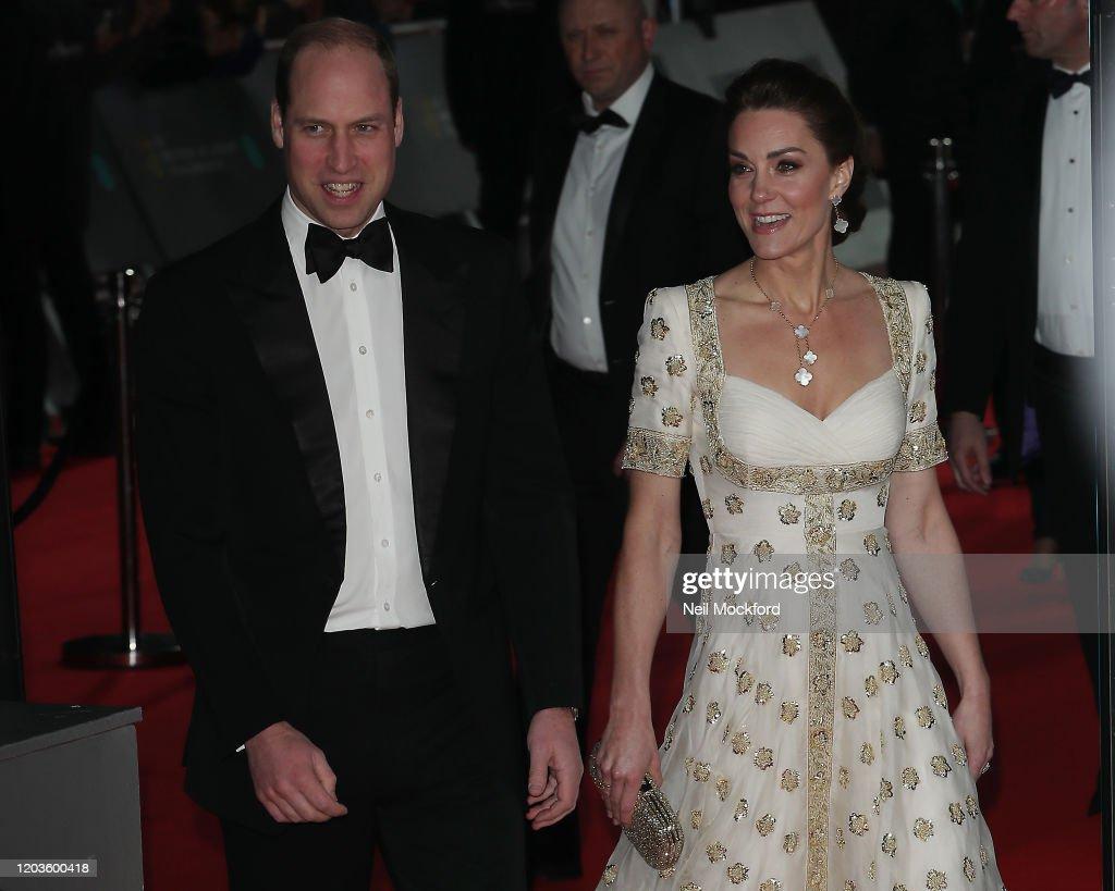 EE British Academy Film Awards 2020 -  Red Carpet Arrivals : Foto di attualità