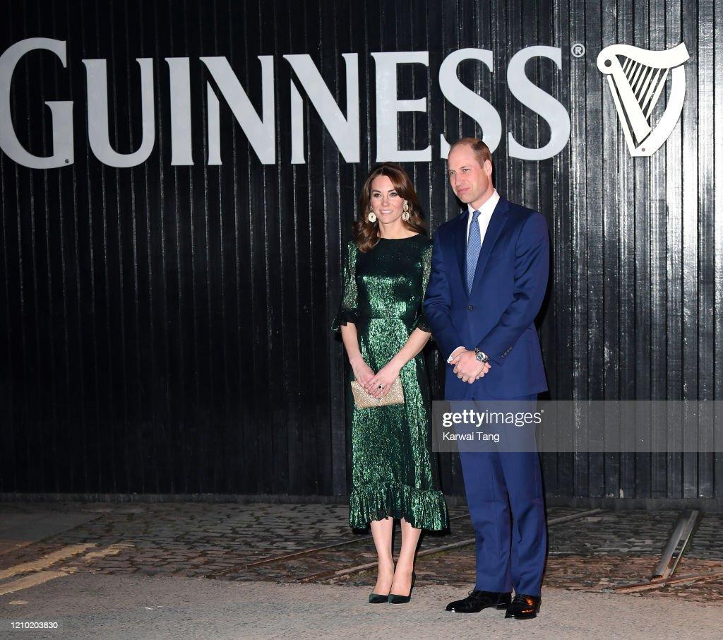 The Duke And Duchess Of Cambridge Visit Ireland - Day One : News Photo