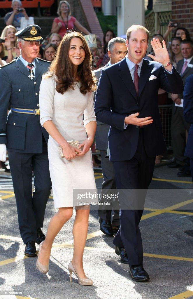 The Duke and Duchess of Cambridge Visit The Royal Marsden Hospital : News Photo