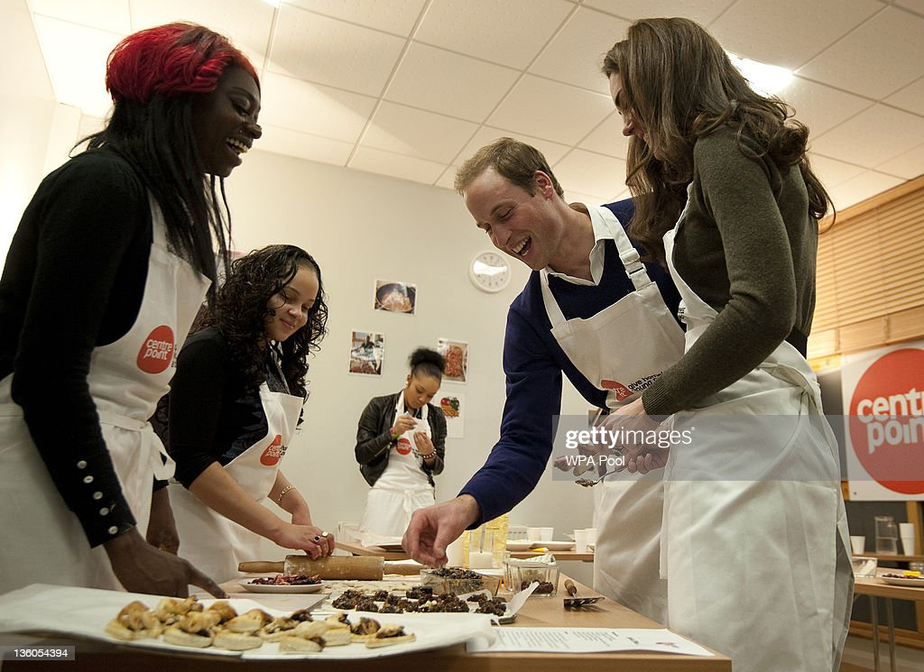 The Duke And Duchess Of Cambridge Visit Centrepoint : News Photo