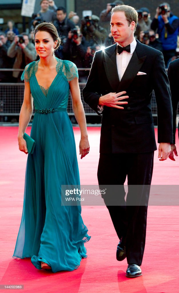 Catherine, Duchess of Cambridge and Prince William, Duke of Cambridge arrive at 'Our Greatest Team Rises -BOA Olympic Concert' at the Royal Albert Hall on May 11, 2012 in London, England.