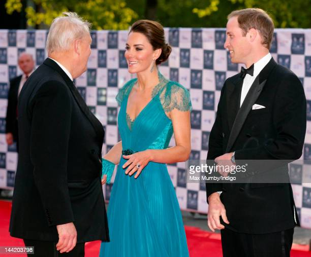 Catherine, Duchess of Cambridge and Prince William, Duke of Cambridge arrive at 'Our Greatest Team Rises - BOA Olympic Concert' at Royal Albert Hall...